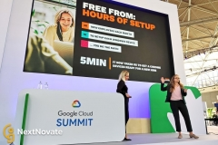 NextNovate customer YoungCapital Summit on stage