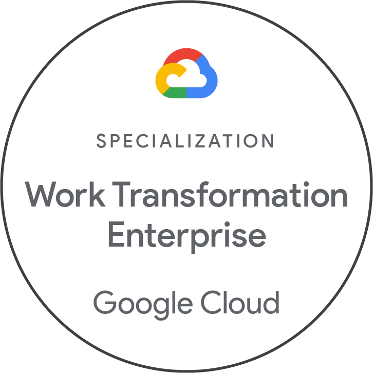 NextNovate Work Transformation Enterprise - Google Specialization