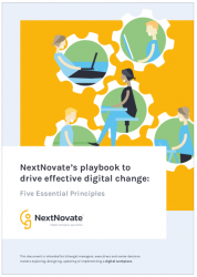 NextNovate's playbook om digitale verandering te realiseren